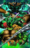 My Colors for Joe Madureira TMNT by Brenofil