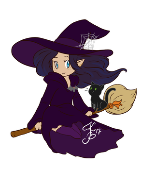Vosta the Witch by Keali
