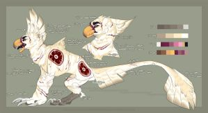 Brute Bird Reference Sheet by Rainbow-Foxy