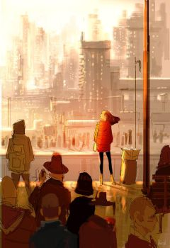 The 4 37 pm train by PascalCampion