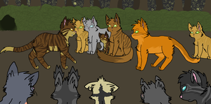 Tigerclaw's Excile by Kym-Ber-Bee