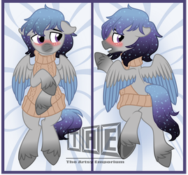Commission: Star Pone Body Pillow - Vector by TheArtsyEmporium