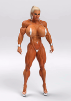 Muscle Girl Turnable by Siberianar