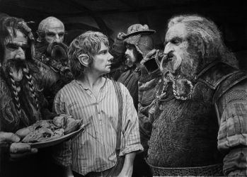 The hobbit by francoclun