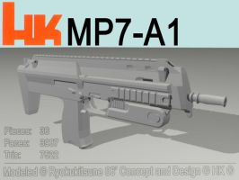 HK Mp7 by RyokuKitsune