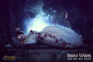 Snow White - ANd The Evil Night by Gilgamesh-Art