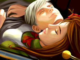 [APH] Resting by angeLEE