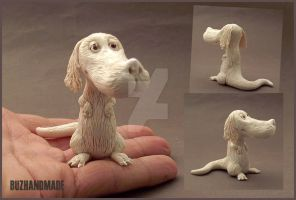 FALKOR the Lucky Dragon by buzhandmade