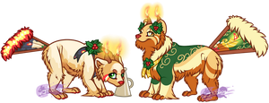 Advent Calendar Panfans - The Ghosts of Christmas by Jifi-Dawg
