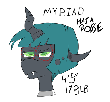 Myriad Has A Posse by Slypenslyde