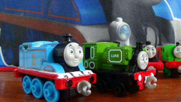 Adventures Thomas and Luke (After Custom Work) by ThomasZoey3000