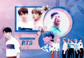 PNG PACK: BTS #64 (YOUTH) by Hallyumi