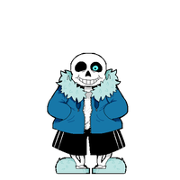 You're Gonna Have A Bad Time - Laughing Sans by DrownedOpposites
