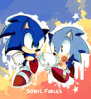 sonic forces by aoii91