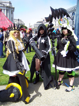 Black Rock Shooter group. by Cy00tx