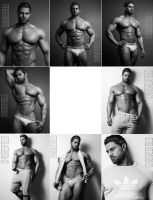 Chris Shooted for FitMen by markdarko