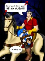 Reluctant Guest by geekling
