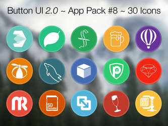 Button UI 2.0 ~ App Pack #8 by BlackVariant