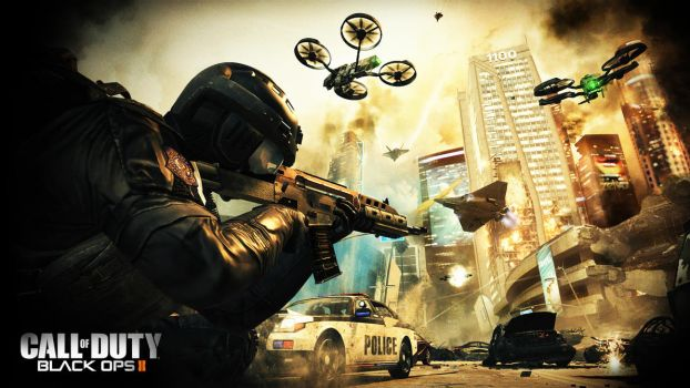 Black Ops 2 - Exclusive Wallpaper by illage2