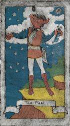Tales Tarot Set: 0 The Fool by Lunitaire