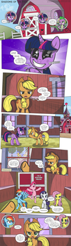 MLP:FiM - Shadows of the Past #10 by PerfectBlue97