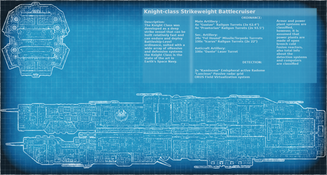 Knight Class Battlecruiser Plans by Xvampir3