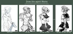 Draw this again Meme 4 by amumaju