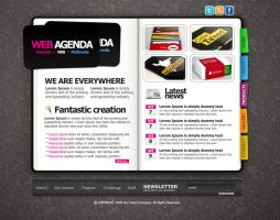 CREATIVE WEB AGENDA by oliverstoys