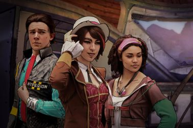 Tales from the Borderlands by hildaglitz