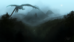 Misty Mountains by jusza
