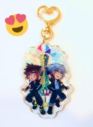 PREORDER Available!! Soriku charm ENDS 4/28 by aourii