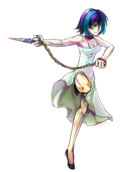 A Knife of Pendulum Dowser by ayhy