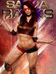 Sasha Banks by MrSynnerster