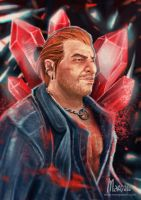 Varric by margaw