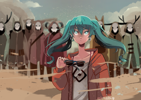 SAND PLANET by skrillbug