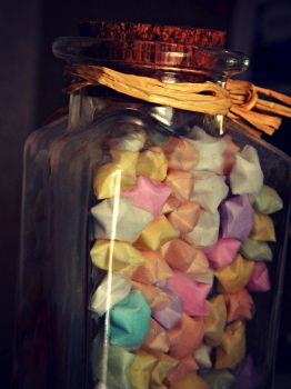 jar of stars by bloody-magpies
