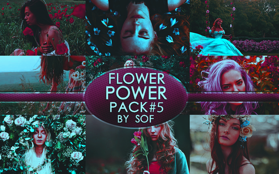 Flower Power Stock Pack #5 by SaleySwillers