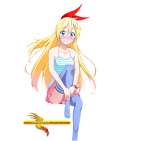 Nisekoi  Chitoge casual render by sharknex