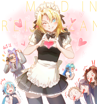 Maid in Reikenzan by loli-drop