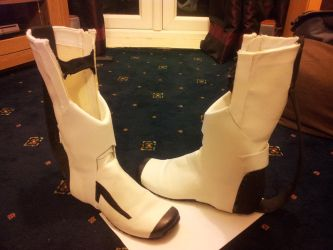 Long Fall Boots Finished by HellsPlumber