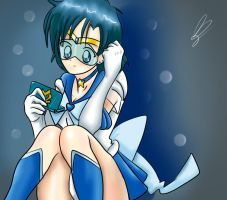 Super Sailor Mercury by Conejita-Ginny