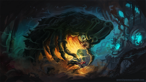 Super Metroid Draygon vs Samus by knight-mj
