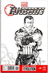 Punisher - Thunderbolts #1 by SpiderGuile