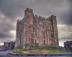 Castle in Northumberland by PaulWeber