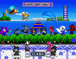 Happy Birthday Clash by BluethornWolf
