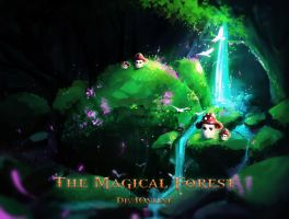 The magical forest by DiV4Online