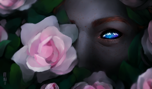 What's the color of the thorns by hyokka
