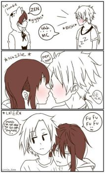 Mystic Messenger Comic by Little-Ione