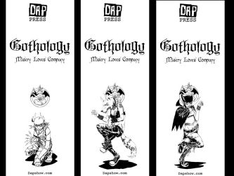 Monster Girl Bookmarks by Gothology