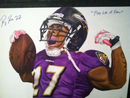 Ray Rice by dorseyart